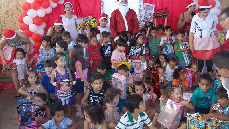 Festa de encerramento ano letivo das creches