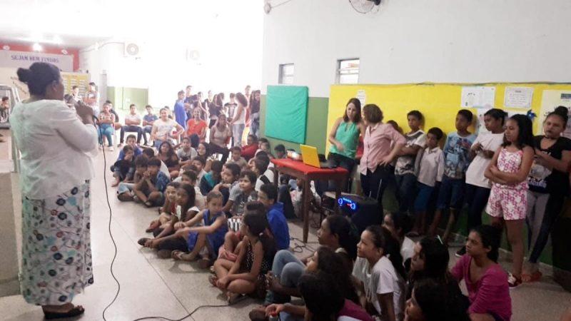 Escola Municipal participa de ações sobre sustentabilidade no  dia Mundial da Água