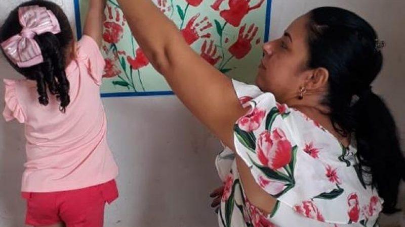 Rotina Escolar de Creche contempla atividade sobre o Dia Mundial da Água