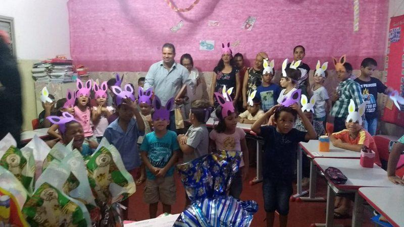 Escola Flor do Norte (Escola Campo) realiza Projeto sobre a Páscoa