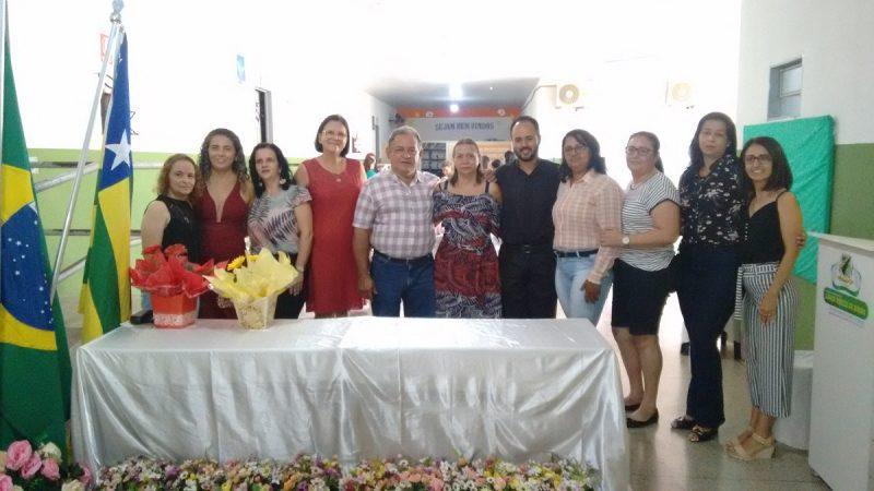 SOLENIDADE DE POSSE DA DIRETORA DA ESCOLA MUNICIPAL SANTA TEREZA