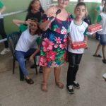Samuel Alves de Farias ganhador da gincana no 8° ano