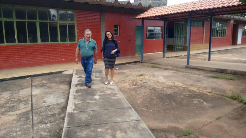 REFORMA DA ESCOLA ESTADUAL DR. PEDRO LUDOVICO TEIXEIRA