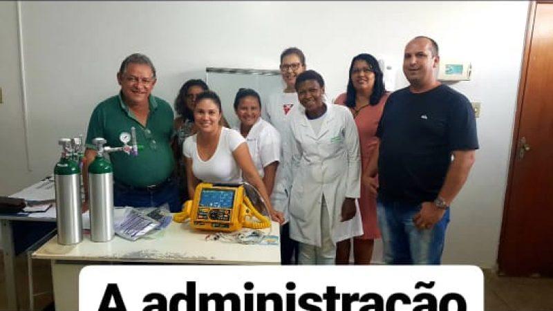 ENTREGA DE EQUIPAMENTOS PARA O HOSPITAL MUNICIPAL
