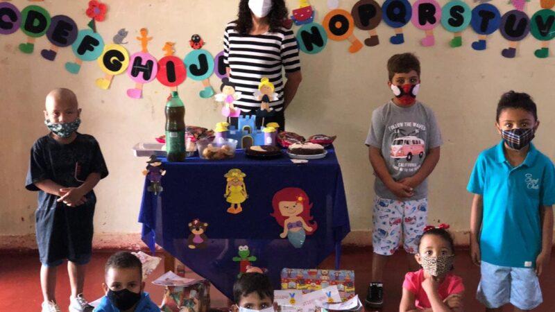EVENTO DE ENCERRAMENTO DAS ATIVIDADES PEDAGOGICAS DA ESCOLA MUNICIPAL FLOR DO NORTE