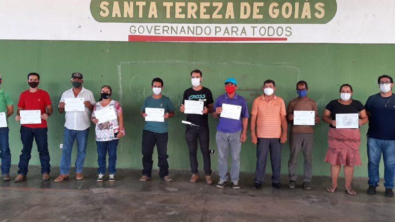 1° Curso de Apicultura em Santa Tereza de Goiás