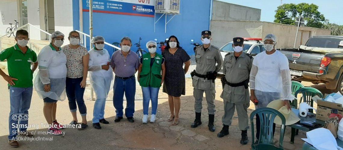 1- Santa Tereza de Goiás - Barreira Sanitária