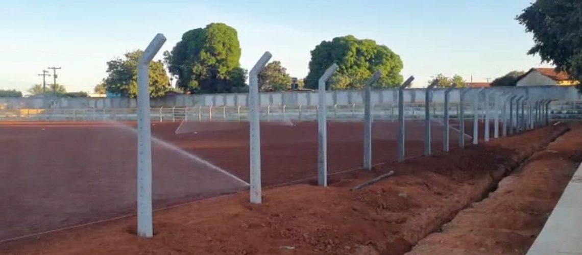 Reforma Estádio Municipal de Santa Tereza de Goiás